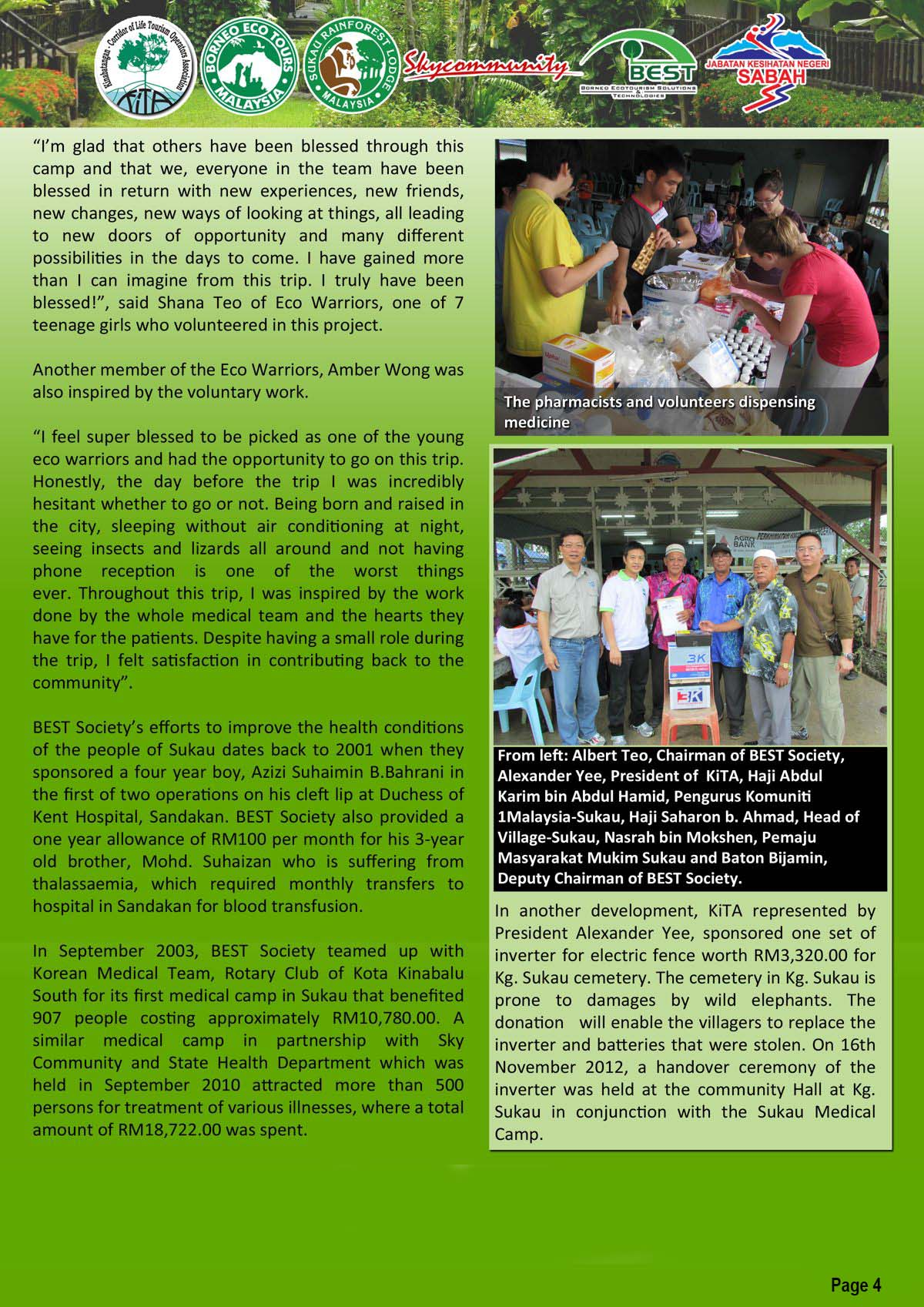 sukau medical camp press release pg 4