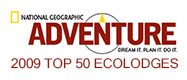 national geographic top 50 ecolodges 2009