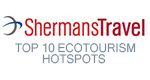 top 10 ecotourism hotspots by Sherman Travel